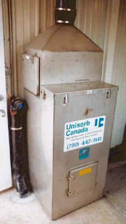 Unisorb Vertical Bed System Unit