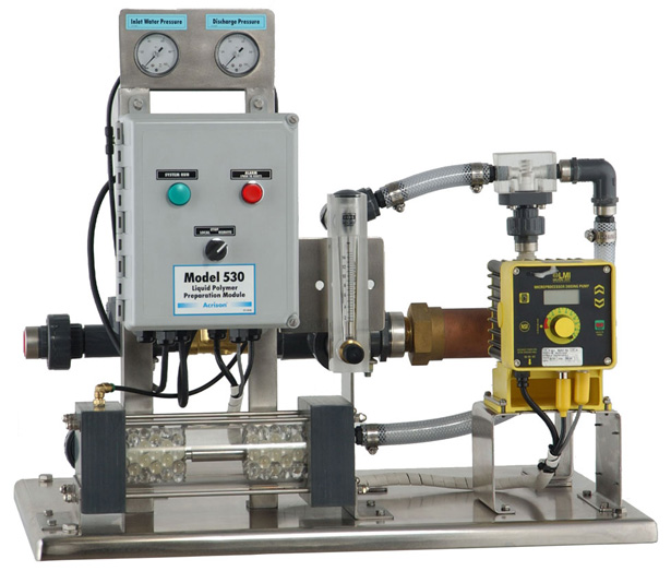 Model 530 Liquid Polymer Blending System with Static Activation Chamber